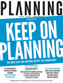 Planning magazine