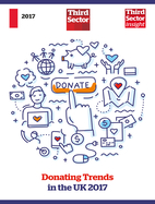 Donation Trends in the UK 2017:- Charity Turnover:- £5M +/Comm Org