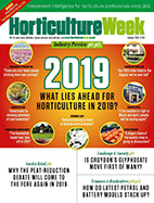 Horticulture Week magazine JANUARY 2019